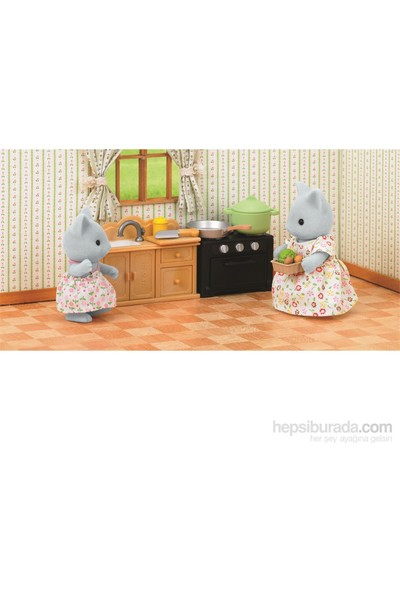 Sylvanian Families C Kitchen Set