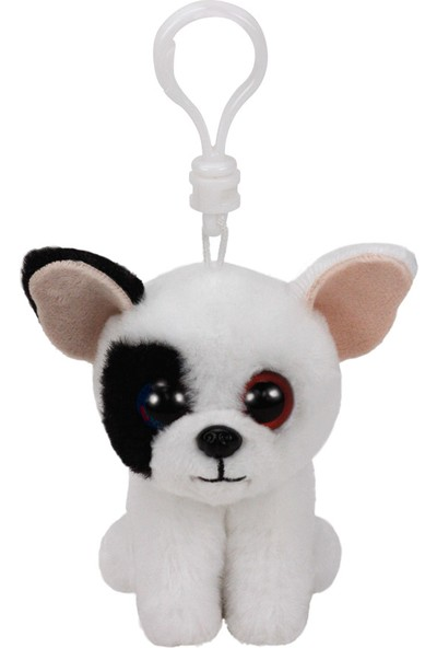 Ty Beanie Boo'S Marcel Köpek Peluş Anahtarlık