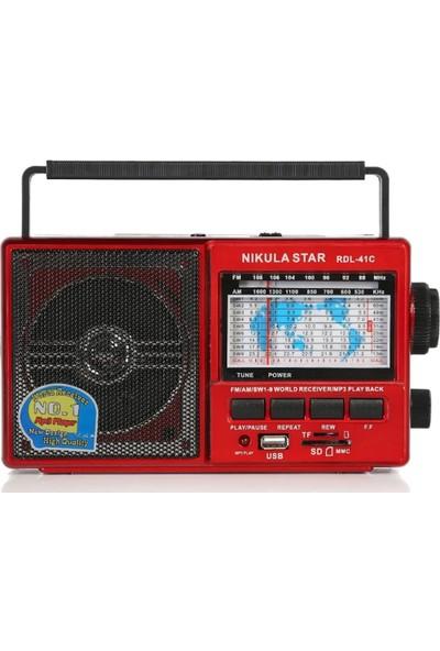 Nikula Star Rdl-41C Usb Radyo