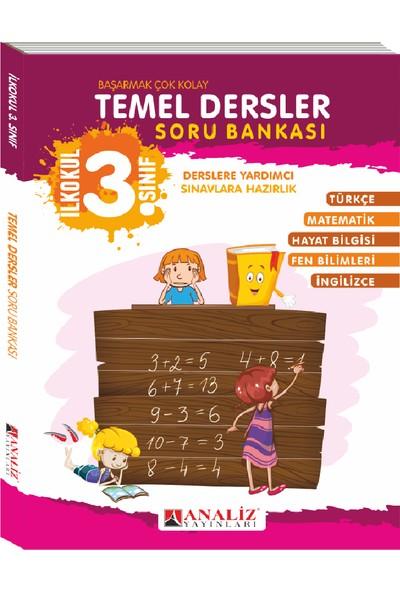 Analiz Yayınları 3. Sınıf Temel Dersler Soru Bankası