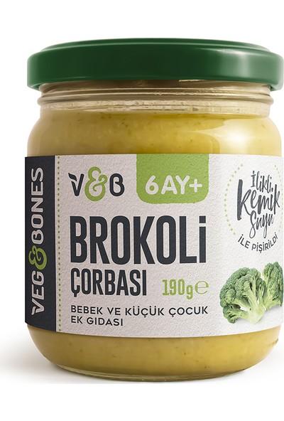Veg&Bones Brokoli Çorbası 190 gr