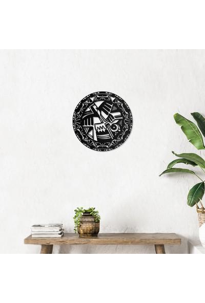 Artepera Mayan Metal Tablo - APT113 49 x 49 cm