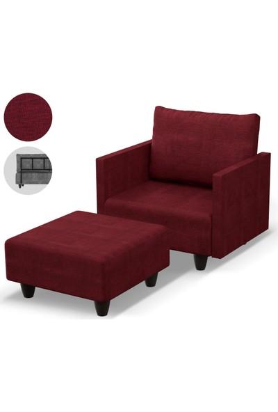 Prado Saka Tv Koltugu Kırmızı