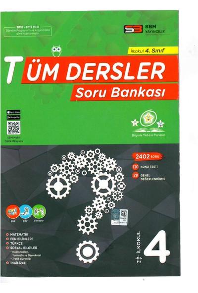Sbm Yayınları Tüm Dersler Soru Bankası 4. Sınıf