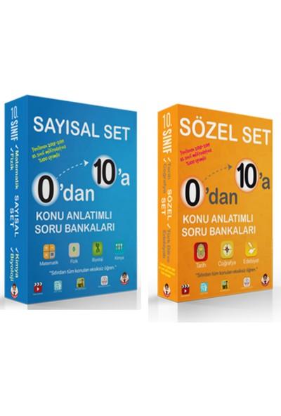 Tonguç Akademi 10. Sınıf 0'dan 10'a Sayısal ve Sözel Set