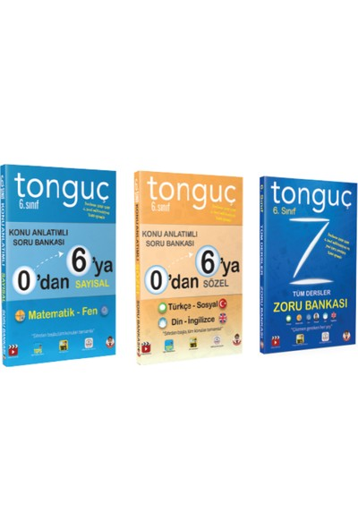 Tonguç Akademi 6. Sınıf Seti
