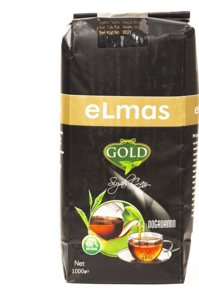 Elmas Gold Siyah Çay 1000 gr