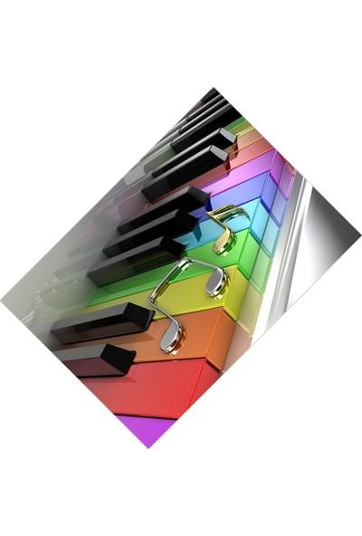Cici Tasarım Renkli Piyano ve Melodi Nesneler Kız Çocuk Tasarımsı-150x150