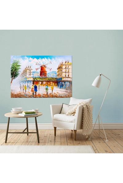 Dementia Art Şehir Kanvas Tablo 8405 20x30