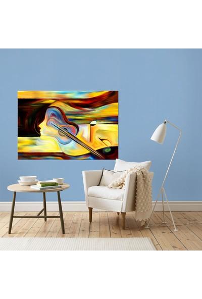 Dementia Art Soyut Kanvas Tablo 5760 20x30