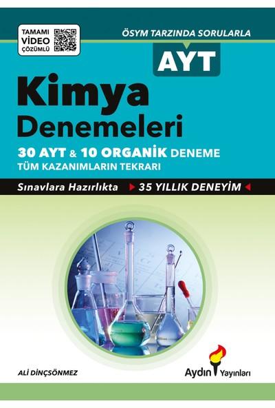 Aydın Yayınları AYT Kimya 30'lu Deneme Sınavı