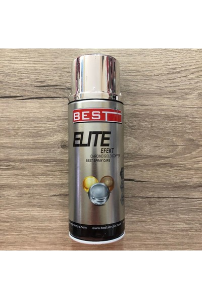 Best Best Elite Efekt Krom Chrome Sprey Boya 400Ml