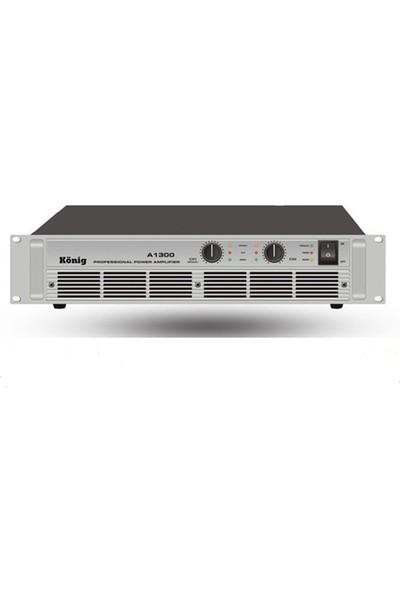 König A 1300S Power Anfi 2 X 500 W 4 Ohm