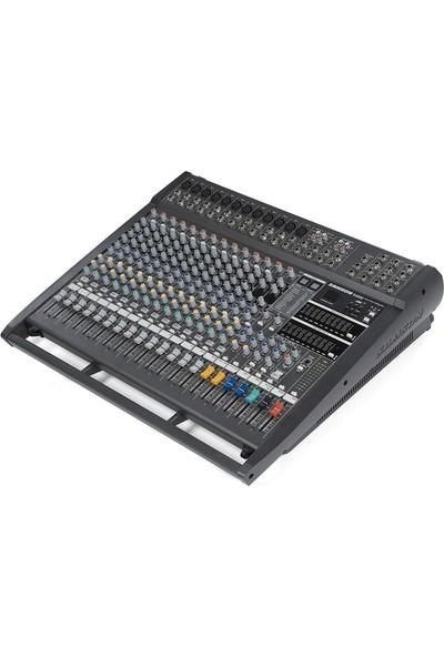 Samson S4000 - 12 Mono 4 Stereo 2X500W 4 Ohm Power Mikser