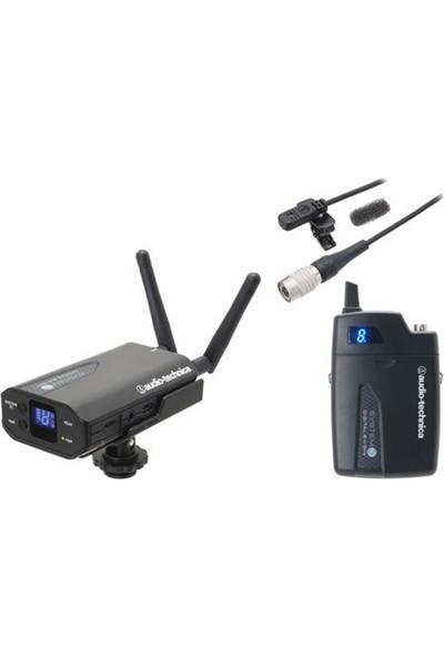 Audio Technica Atw-1701P Kamera İçin Kablosuz Alıcı Verici Yaka Mikrofon Kiti