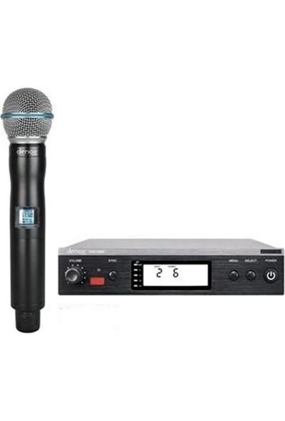 Denox Vxr-1000H 16 Kanal Uhf El Tipi Kablosuz Mikrofon