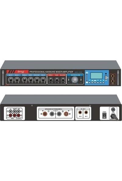 Denox Dxk-150U - 2X80W 8 Ohm Usbsd Mp3 Stereo Amfi