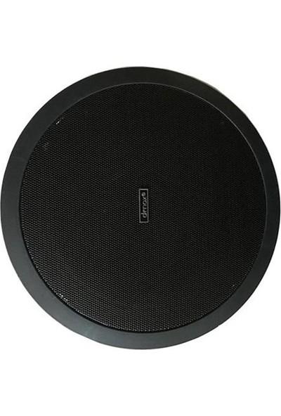 Denox Ls C 8 Black 8 İnç 15W 100V 8 Ohm Tavan Hoparlörü