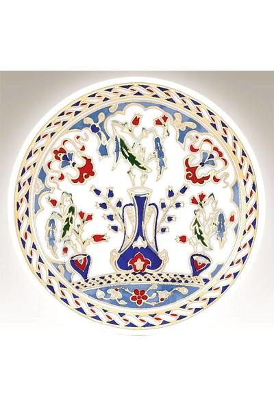 Kütahya Porselen 10 cm El Dekoru Tabak Dekor No 01178