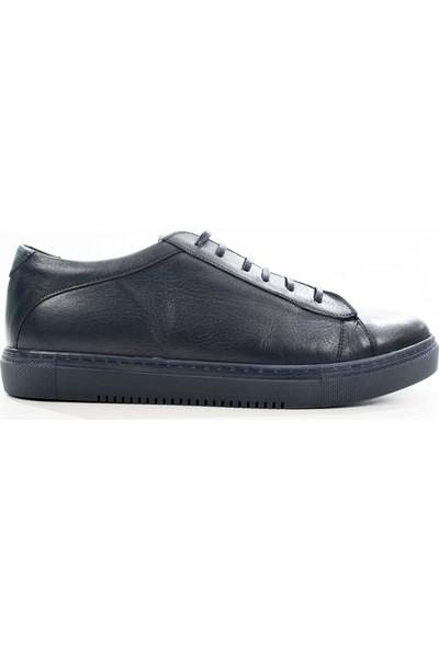 Deepsea Lacivert Yüksek Taban Bağcıklı Gündelik Erkek Ayakkabı 1808928