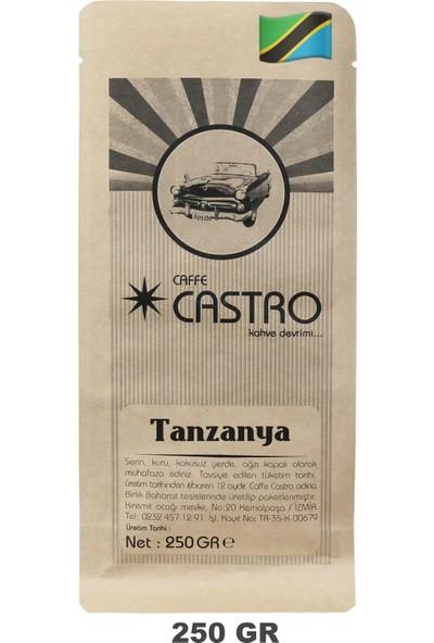 Castro Tanzanya Nitelikli Espresso Öğütülmüş Kahve 250 gr