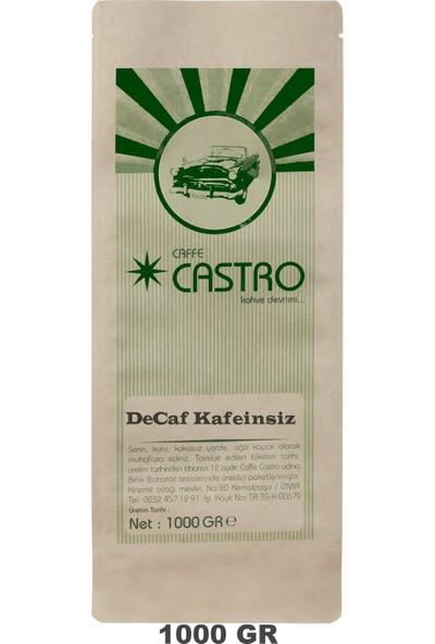 Castro Decaf Kafeinsiz Filtre Öğütülmüş Kahve 1 kg