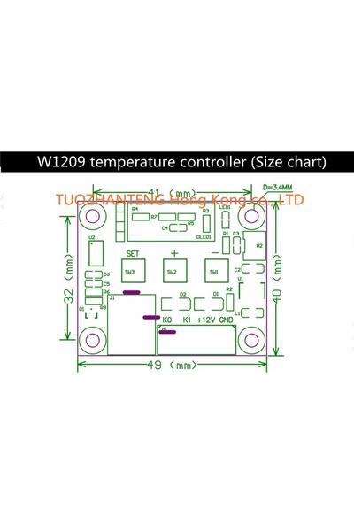 Weather Forecast Dijital Termostat 12v Akvaryum Kuluçka Buzdolabı Termostat thr206