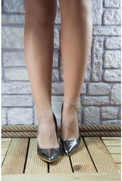 Noa Shoes Kadın Platin Ayakkabı