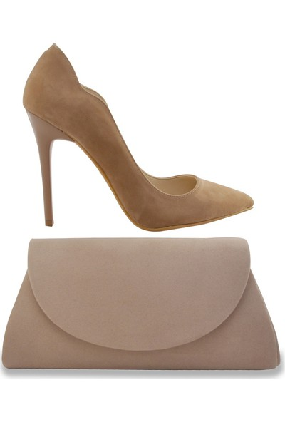 Noa Shoes Kadın Bej Ayakkabı