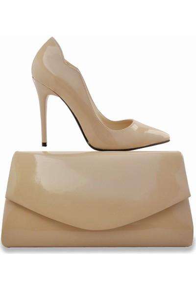 Noa Shoes Kadın Krem Rengi Ayakkabı
