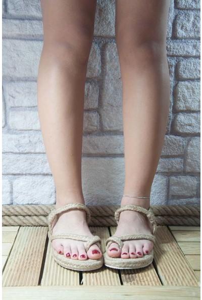 Noa Shoes Kadın Vizon Terlik