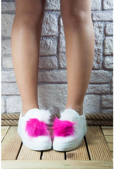 Noa Shoes Kadın Beyaz Ayakkabı