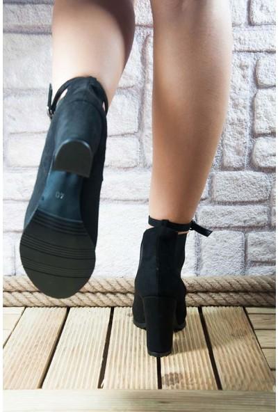 Noa Shoes Kadın Siyah Bot