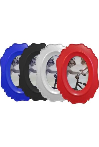 Acr Oval Desenli Dikey Çerçeve 10 x 15 cm 1 Adet