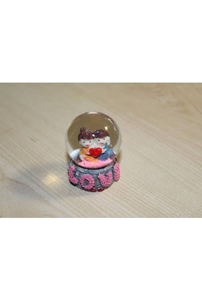 Ylz Mini Love Kar Küresi 1522B3