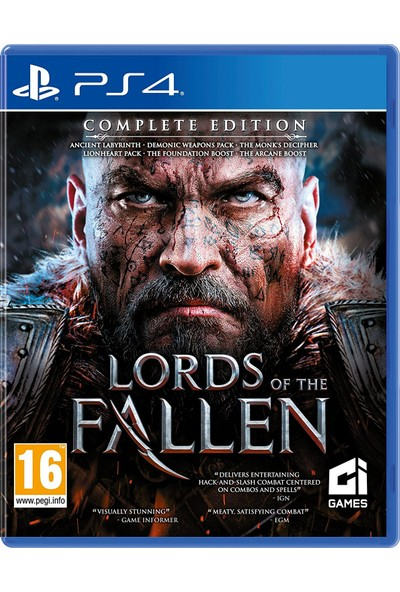Ci Games Lords Of The Fallen Complete Edition PS4
