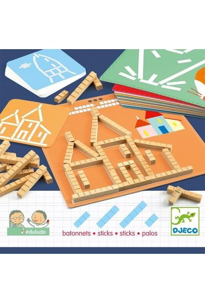 Djeco Eduludo Sticks Beceri Oyuncağı
