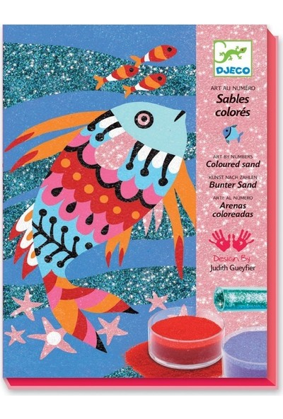 Djeco Fish Rainbows Boyama