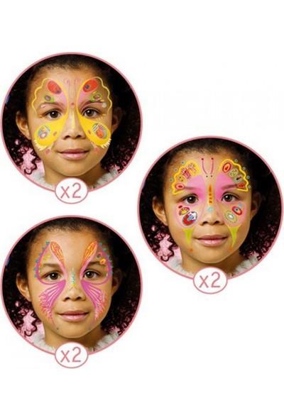 Djeco Yüz Boyama Seti Butterfly Boyama