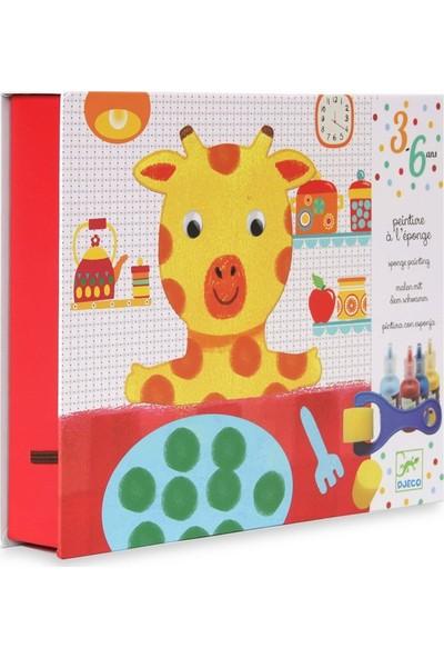 Djeco Sponge Painting - Cudly Toy Adventures Boyama
