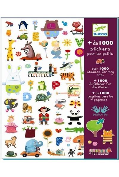 Djeco Çıkartmalar 1000 Stickers For Little Ones