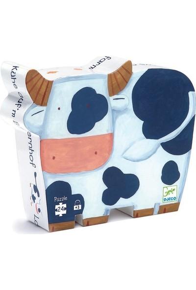 Djeco Dekoratif Puzzle 24 Parça The Cows On The Farm