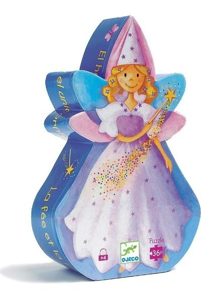 Djeco Dekoratif Puzzle 36 Parça The Fairy And The Unicorn