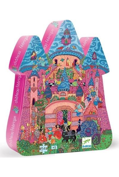 Djeco Dekoratif Puzzle 54 Parça The Fairy Castle