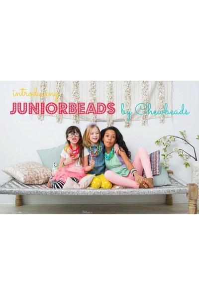 Chewbeads Juniorbeads Diş Kaşıyıcı - Bleecker Jr Kolye Turkuaz