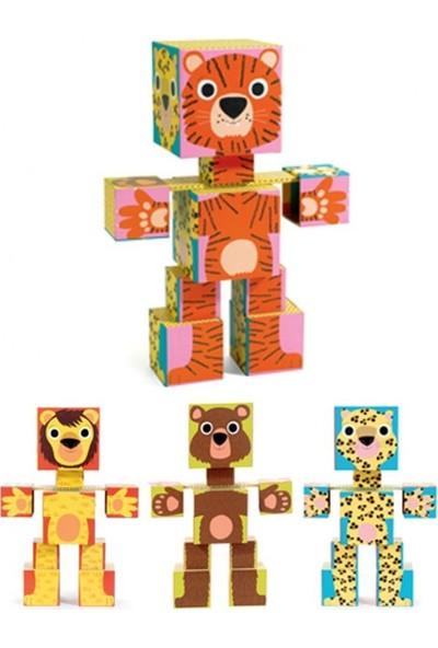Djeco Totem Cubes Animo Küp
