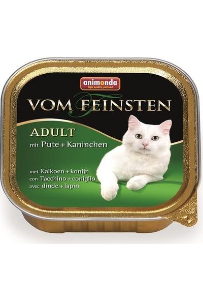 Animonda Vom Feinsten Classic Hindi Tavşan Kedi Konservesi 100 gr