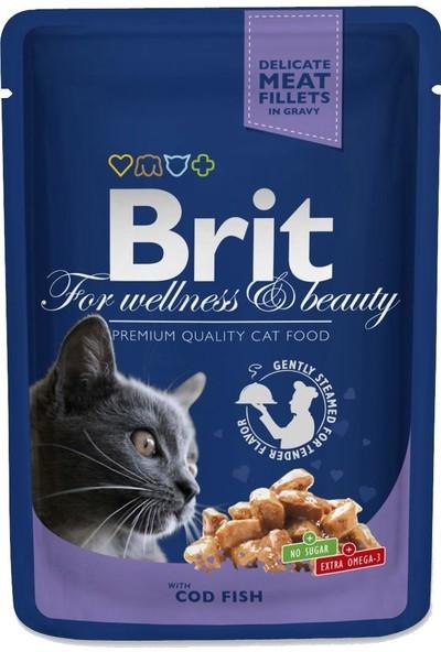 Brit Premium Morina Balıklı Pouch Kedi Mamasi 100 gr