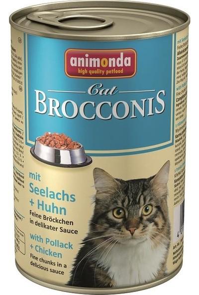 Animonda Brocconis Balıklı Tavuklu Yetişkin Kedi Konservesi 400gr