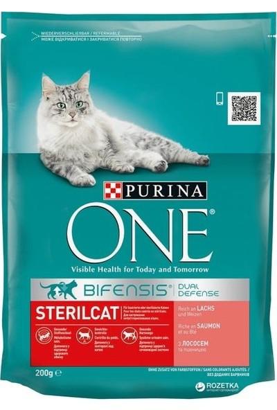 Purina One Somonlu Kısırlaştırılmış Kedi Maması 800 gr